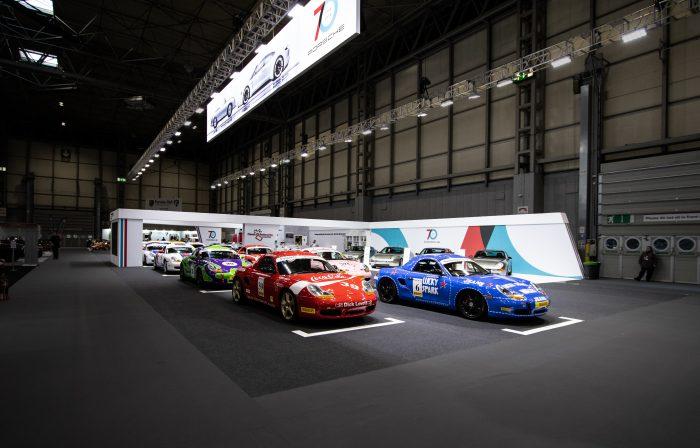 car exhibition stand for porsche