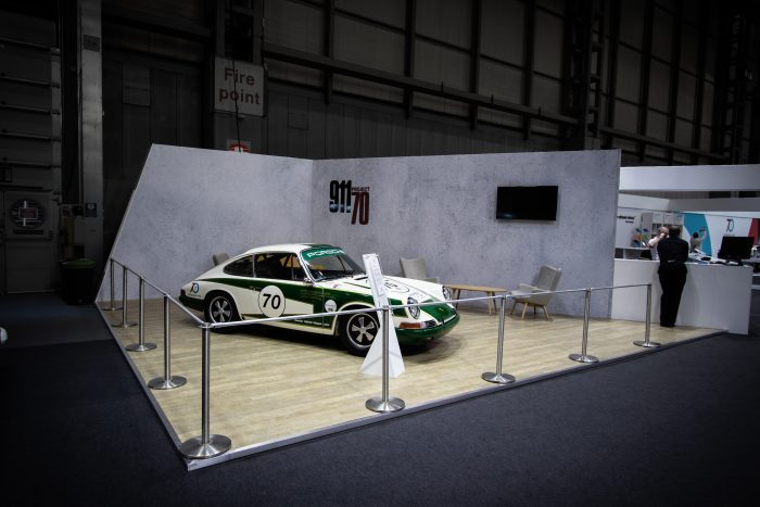 car exhibition stand for classic car show