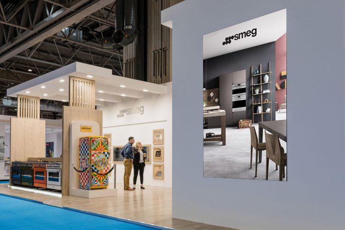 Exhibition Stand Design For Smeg